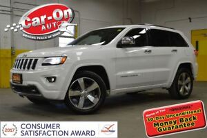 2014 Jeep Grand Cherokee OVERLAND 4X4 LEATHER NAV PANO ROOF REMO