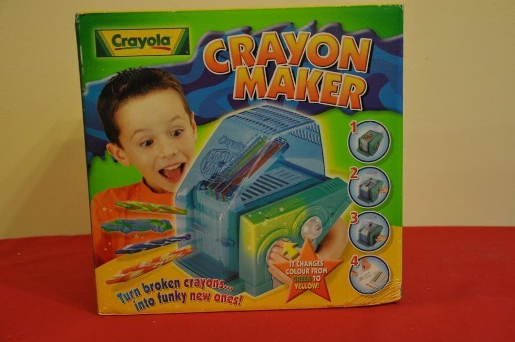 Brand New/Unopened Crayola Crayon Maker - turn broken crayons into funky new ones - crafting fun