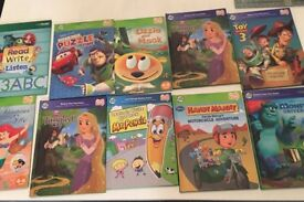 11 books for leapfrog tag plus 2 pens and case