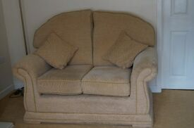 sofa (2 seater) plus 2 chairs ** PRICE REDUCTION**