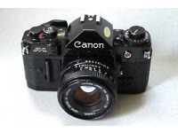 canon a1 35mm analog film camera