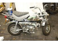 Honda z50 Monkey Bike Chrome 50th Anniversary Ltd edition