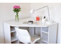 Ikea desk - BORGSJO corner desk