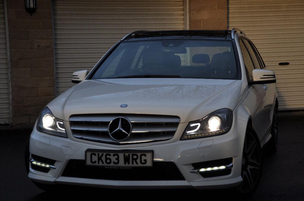 2013 Mercedes C220 Amg Sport Plus Pan Roof Not Golf Gtd