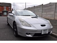 TOYOTA CELICA 1.8 VVT i 3DR PETROL (LEATHER SEATS, FSH)