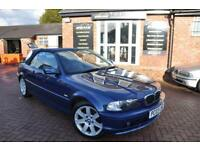 BMW 3 SERIES 2.0 318CI 2d 141 BHP LEATHER INTERIOR (blue) 2003