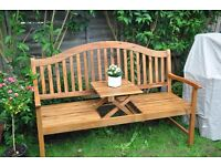 Alexander Rose Garden Furniture 5ft Cornis Bench with Centre Table