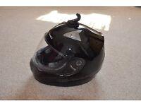 Motorbike Helmet Worn Twice