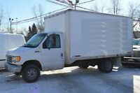 1993 Ford E-350 14' CUBE only 120,000km