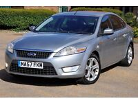 2007 Ford Mondeo 2.0 TDCi Zetec 5dr+DIESEL+VERY LOW GENUINE MILEAGE+1 FORMER KEEPER
