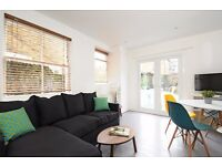 A modern 2 double bedroom garden flat near Clapham North Overground. Mayflower Road, SW9