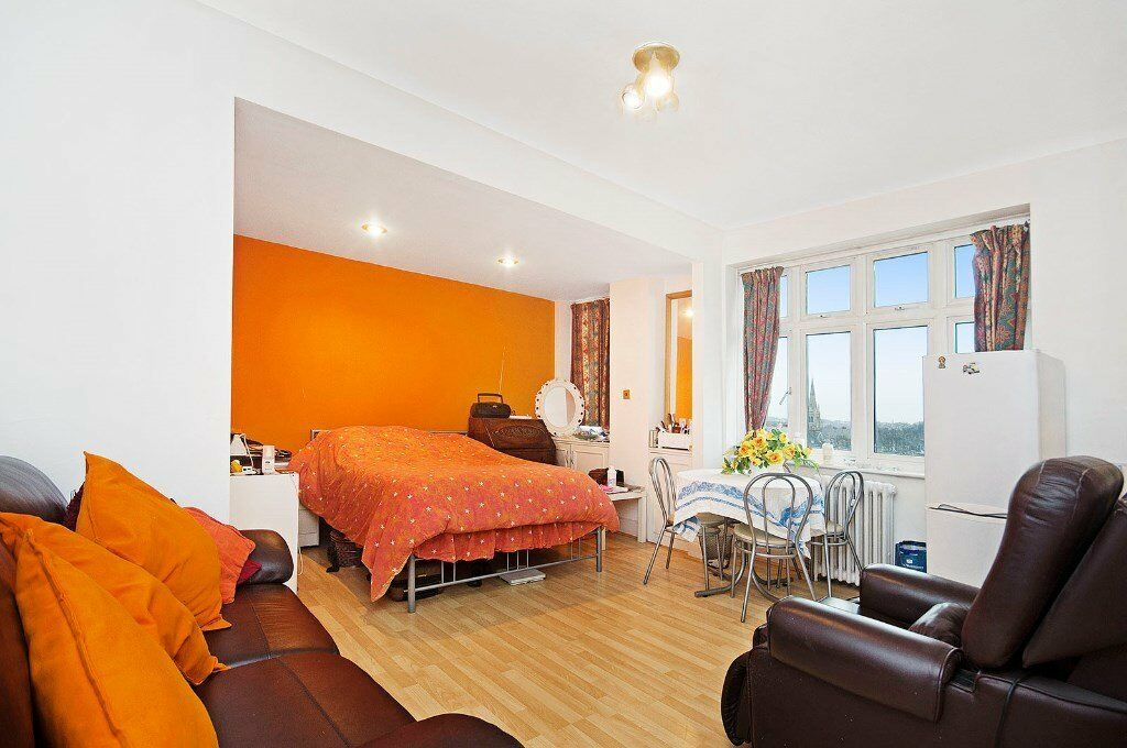 LARGE STUDIO FLAT APARTMENT WITH 24h PORTER in St. John's Wood **£370pw** SOME BILLS INCLUDED