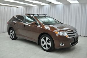 2013 Toyota Venza V6 FWD SUV w/ HTD LEATHER, BLUETOOTH & DUAL CL