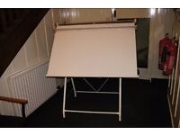 Drawing board - Large A0 sized with stand.