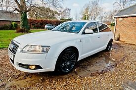 Audi S line A6 TDI 2 litre turbo. FSH, High performance, 58 plate.