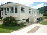 Luxury Static Caravan on a 5* Park in the Conwy Valley, North Wales