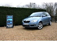 2007 SKODA FABIA 1.6 ### LOW MILES ### FULL HISTORY ### LONG MOT !.