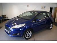 Ford Fiesta Zetec 3dr (blue) 2015