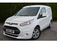 FORD TRANSIT CONNECT 200 LIMITED P/V VAN HEATED SEATS SCREEN A/C (white) 2014