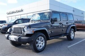 2014 Jeep Wrangler Unlimited Sahara Two Tops Navi