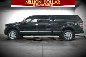 2014 Ford F-150 PLATINUM 4X4 SUPERCREW
