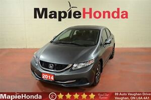 2014 Honda Civic EX| Backup Cam, Sunroof, Power Group!