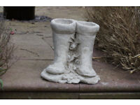 A great pair of boot planters.