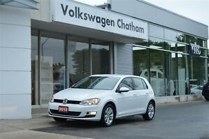 2015 Volkswagen Golf Comfortline Heated Leather Touch Screen Bac
