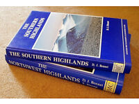 Famous Scottish hiking books: Bennet, and Bennet & Strang