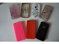 IPhone 5 phone cases (bundle of 7)