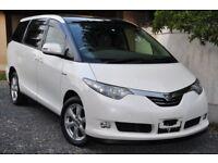 Toyota Estima Hybrid direct Japan import supplied fully UK reg. More en route contact Algys Autos