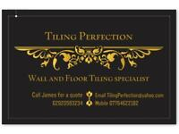 Tiling perfection wall and floor tiling specialist.