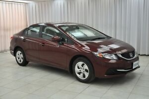2013 Honda Civic LX 5SPD SEDAN w/ BLUETOOTH, HEATED SEATS, USB/A