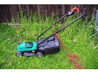 mower quadcast fully working cond