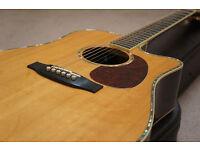 Takamine TNV360SC // Top end electro acoustic guitar // +PLUS+ Original Hard Case // MUST SEE!