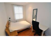 A fully furnished room in a contemporaty houseshare in Shepherds Bush, all bills included