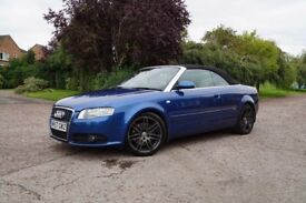 2008 57 Audi A4 2.0 TFSi Final Edition Convertible, Hpi clear, P/ex welcome,