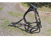 Honda CBX 750 frame SORN'd with V5 docs. NO ACCIDENT DAMAGE