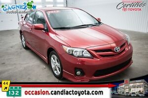 2013 Toyota Corolla S * MANUEL * AC * MAGS * TRES PROPRE *