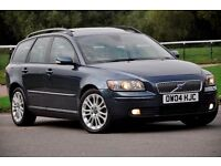 2004 Volvo V50 2.4 i SE Geartronic+ ESTATE+FULL LEATHER+HEATED SEATS+12 MONTHS MOT+SERVICE HISTORY