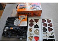 The Renovator De Luxe Multi-tool-set power tool, Jig Saw, Sander, Electric Scraper, Electric Grinder