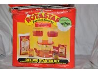 Rotastak Deluxe Hamster Cage Starter Unit plus several extra units and hamster ball gym