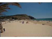 8 nights sept 19th-27th 2 bedroom apartment in Luz, Algarve Portugal, pool,garden,sea views