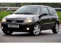 2005 Renault Clio 1.2 16v Extreme 4 3dr+12 MONTHS MOT+JUST SERVICED+READY TO DRIVE AWAY