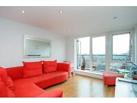 A two bedroom top floor flat to rent in Kingston. Garricks House.