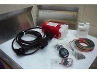 INSTATRIM 18 X 8 TRIM TAB SET 24V - HYDRAULIC BOAT LEVELLER - WATERPROOF SWITCH