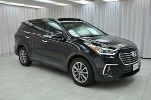 2017 Hyundai Santa Fe XL AWD 7PASS SUV w/ BLUETOOTH, HEATED LEAT