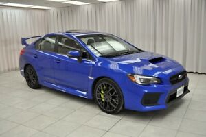 2019 Subaru WRX STI SPORT-TECH WITH WING SPOILER AWD SEDAN w/ BL