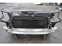 AUDI A4 2008 model RADIATORS WITH COOLING FAN COOLING CONDITIONER PANEL WITH CRASH BAR