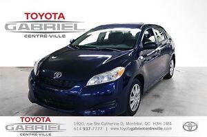 2013 Toyota Matrix UN SEUL PROPRIO TRES PROPRE